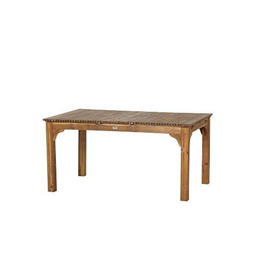Siena Garden Ausziehtisch Falun, 150/175/200x100x74cm, Gestell: Akazienholz, geölt in natur, Tischplatte: Akazienholz, FSC 100%