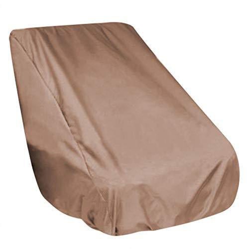 Nivvity Funda para Silla al Aire Libre, Duradera, Resistente al Agua, Gran Escritorio y sillas para Exterior, Funda para Toda la Temporada, protección de Muebles(Coffee)