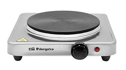 Orbegozo PE 2910 - Placa eléctrica, termostato regulable, 1