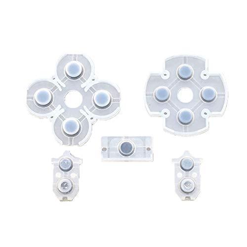 FeiyanfyQ Game Ersatzteile Gamepad Button Controller Leitfähige Pads für Sony PS4