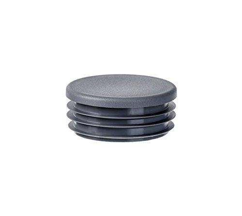 10 pcs bouchon pour tube rectangulaire 120x40 noir plastique Capuchon Bouchons