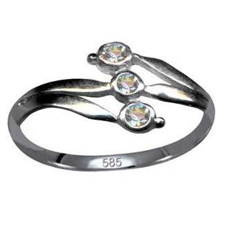 Goldring Jugendstil Design Originaler Diamant Ring Echt 585 Weißgold Liebe Glaube Hoffnung Emotion Symbol Motiv Stil Objekt extravagant exklusiv neu gut schön modisch weiss klar transparent