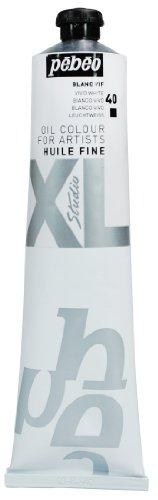 Pébéo - Olio fine XL 200 ML - Pittura ad Olio Bianco - Olio Bianco Brillante - Pittura ad Olio Pébéo - Bianco Brillante 200 ml
