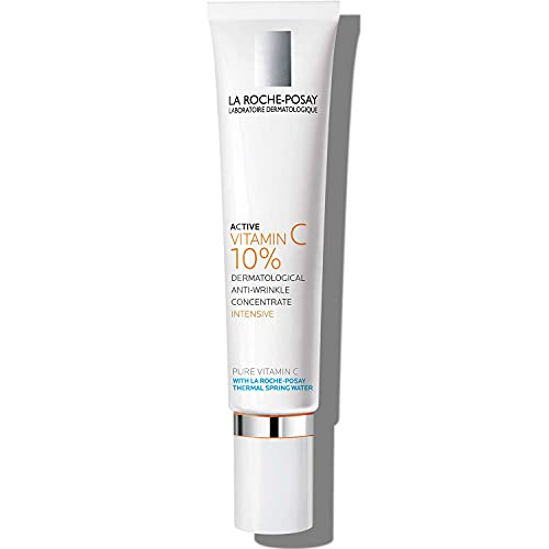 La Roche Posay Active C10 Vitamin C Face Cream, Dermatological Anti-Wrinkle Concentrate with 10% Vitamin C & Hyaluronic Acid