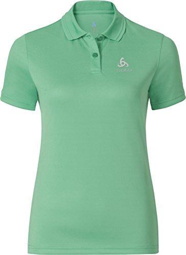 Odlo Polo Shirt S/s Kalmit Femme, Multicolore (Cockatoo 40157), 32 (Taille Fabricant: Small)