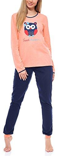 Merry Style Pijama Conjunto Camiseta y Pantalones Ropa de Cama Mujer MS10-170