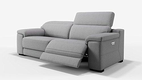 sofanella Designer Sofa Funktionscouch Funktionsofa Stoff Sofagarnitur Couchgarnitur 2-Sitzer