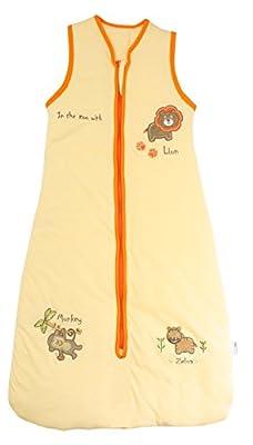 Saco de dormir para bebé Slumbersac de peso ligero, 0,5Tog, con diseño de zoo, tallas de 0 a 6 años