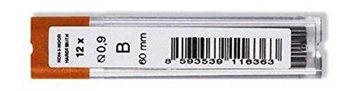 KOH-I-NOOR - Mine in grafite, diametro: 0,9 mm, B, 60 mm, per portamine