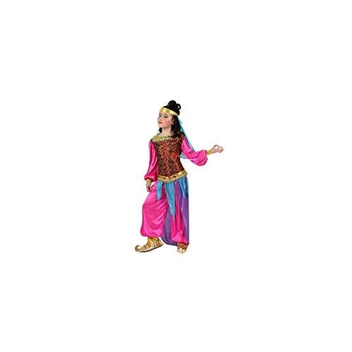 Atosa-10659 Costume-Déguisement Arabe 3-4, Fille, 10659, Fuchsia, De De 3 à 4 ans