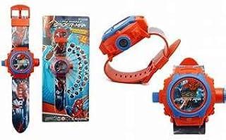 ساعة بروجيكتور سبايدر مان للأولاد SP32485 ، 20 صورة