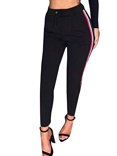 Damesbroek Fashion Sports Fitness Casual Elegante joggingbroek Modern Fashion High Waist met trekkoord slank vrijetijdsbroek trainingsbroek