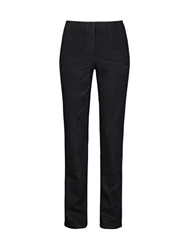 Million X Damen Jeans Happy Fit Skinny W38 L32, schwarz