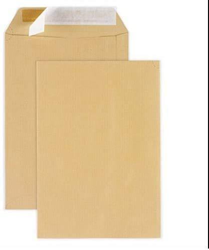 10 große A4 Umschlag Mail Beutel - C4 BROWN 90g Papierformat 229 x 324 mm