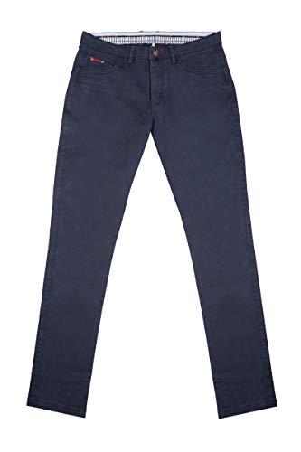 El Ganso Casual 2 Pantalones, Azul (Marino 0007), 40 para Hombre