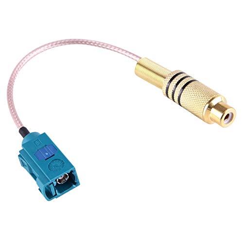 Adaptador de Ethernet Cable RCA Hembra de 15 cm a FAKRA Z Tipo Hembra RG316 con Resorte, aplicación for Antenas, Dispositivos LAN inalámbricos, Cable coaxial, radios Wi-Fi, Antena Externa, etc.