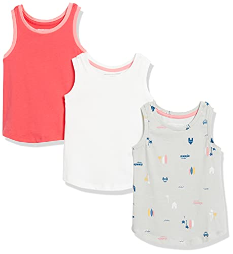 Amazon Essentials Girls' 3-Pack Tan…