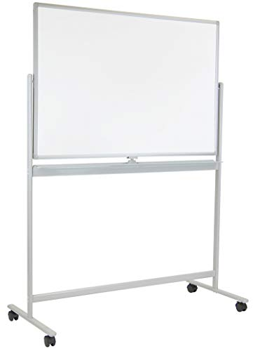 Mount-It! Mobile Dry Erase Whiteboard - Rolling White Board with...