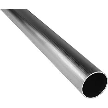 10cm auf Zuschnitt L/änge 100mm Aluminium Rundrohr AlMgSi05 /Ø 25x1,5mm