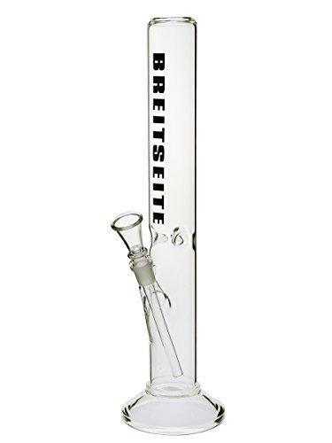 Breitseite Eisbong gerade - 45cm, 18,8mm Schliff - Head&Nature Bong-Kollektion