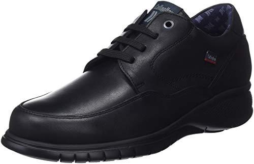 Callaghan Freemind, Zapatos de Cordones Derby Hombre, Negro (Negro 2), 44 EU