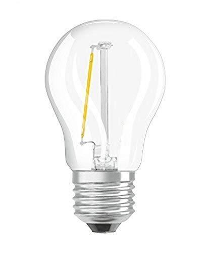 Osram Star Classic P Lampada LED E27, 1.4 W, Bianco