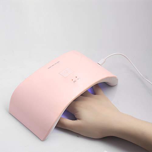 Lampes UV Lampe de photothérapie portative USB de la lampe à ongles USB de source de lumière intelligente UV LED avec séchoir à ongles professionnel 110 / 220v