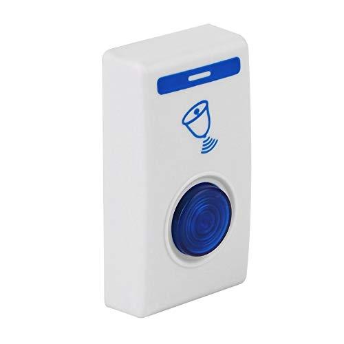 RoxTop 504D LED Funkgong Türklingel Türklingel & Wireles Fernbedienung 32 Tune Songs Weiß Home Security verwenden die intelligente Türklingel Weiß Blau