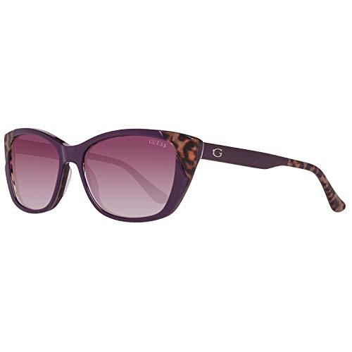 Guess Sonnenbrille Gu7511 81Z-55-16-135 Gafas de sol, Morado (Violeta), 55.0 para Mujer