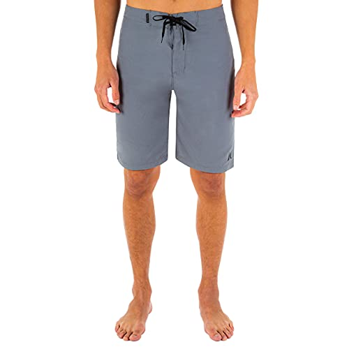 Hurley Men's One and Only 21' Board Shorts, Cool Grey, 34