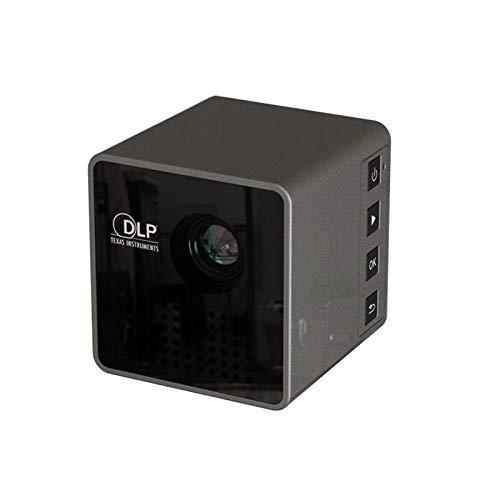 P1S Smallest Size Cube Wireless WiFi Digital Mirror Video HD Mini Smart Dlp 4k Projector for Personal Use