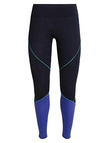Icebreaker Damen 200 Oasis Deluxe Leggings Lange Unterhose Funktionsunterwäsche