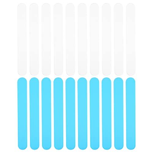Scicalife 20 Unidades Depresor de Lengua Plástico Dental Laboratorio Mezcla de Alginato Espátulas Pinceles de Plástico Mezcla Depresor de Lengua Palas