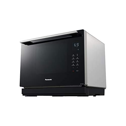 31p4uQz7ZBL. SS500  - Panasonic NN-CF87LBBPQ 31L 3-IN-1 Combination Microwave Oven with Flatbed – Metallic Silver