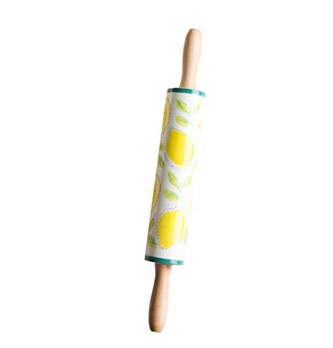 BYCDD Keramische deegroller, Grote roller, Bakgereedschap, Rolling Pin is ideaal voor het uitrollen van een verscheidenheid aan deegen, zoals cookie, taart en bladerdeeg