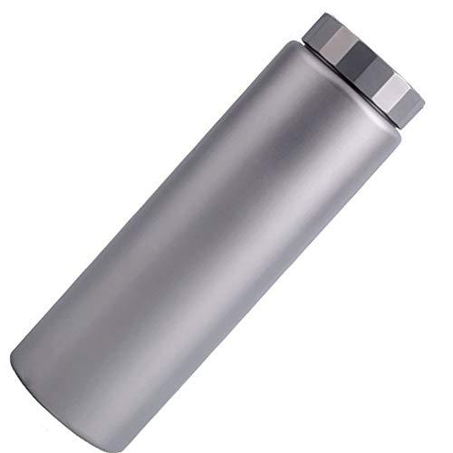 WJQ Reine Titan-Sportflasche tragbarer Outdoor-Wasserkocher große Kapazität gesunde Handschale umweltfreundliche leichte Dichtung stark senden Isolationsbeutel