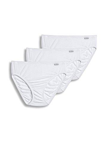 Jockey Women's Underwear Supersoft French Cut - 3 Pack, White, 7