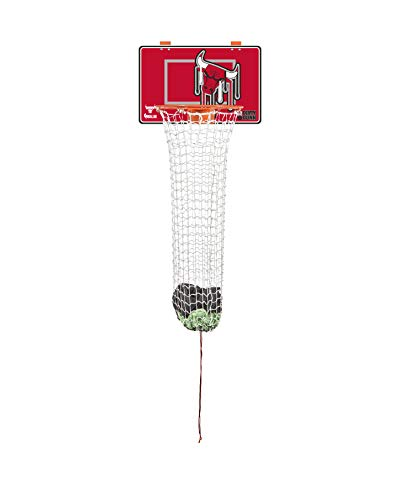 The Dunk Collection Dirty Dunk Over-The-Door Basketball Hoop Laundry Hamper, Chicago Bulls, NBA