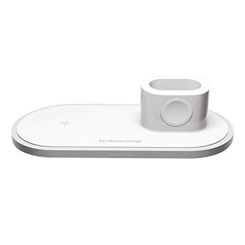 3-in-1 draadloze oplaadstandaard Vervanging van multifunctionele draadloze oplader voor AirPods Watch Smartphone-laadstation