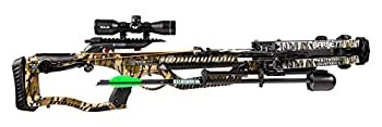 Barnett Archery Whitetail Hunter STR with Crank Cocking Device   Elite Crossbow with Enhanced Safety Features Scope Arrows Quiver & CCD Mossy Oak Bottomland