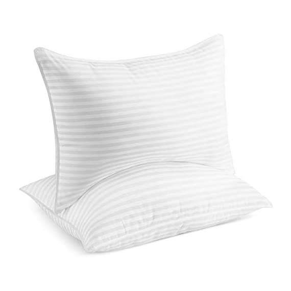 Beckham-Hotel-Collection-Gel-Pillow-2-Pack-Luxury-Plush-Gel-Pillow-Dust-Mite-Resistant-Hypoallergenic