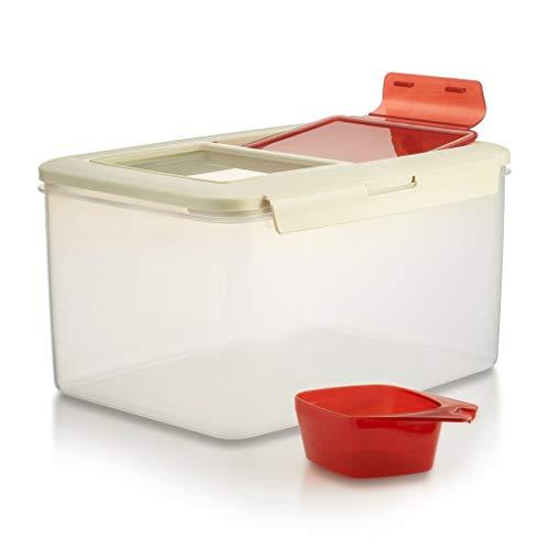 Komax Biokips Large Food Storage Container | 20-lb (11-L) Dry...