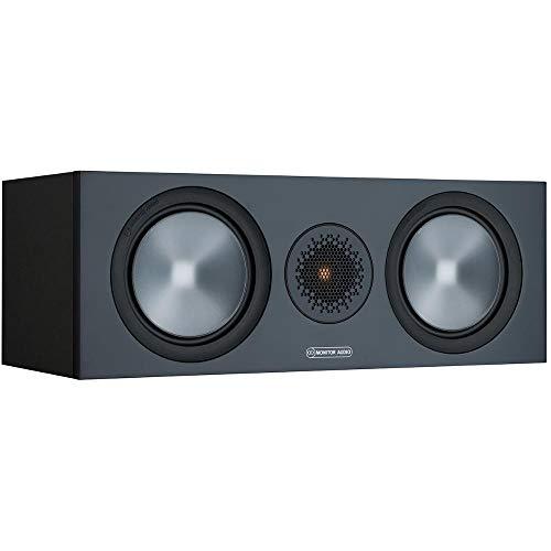 Monitor Audio Bronze C150 6G   Farbe: Schwarz   Center-Lautprecher   Stück   Heimkino   2-Wege   8 Ohm   120 Watt   Magnetische Abdeckung   Geschlossenes Gehäuse   Passiv
