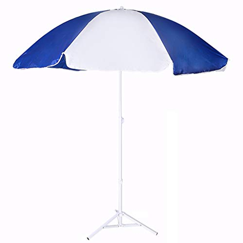 ZJDMF Garden Umbrella Beach Patio Umbrella Sun Shade with Base Lightweight and Portable Protection UPF50 Market Parasol for Balcony Patio Fishing Backyard