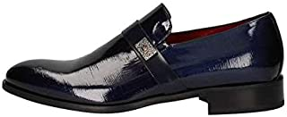 MARINI Zapatos Mocasín Derby Elegante Hombre CR1631 047 Piel Azul Original PE