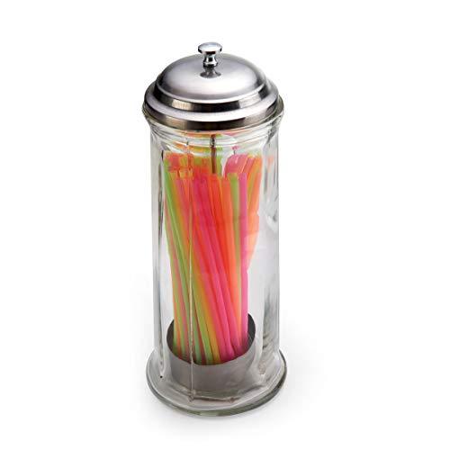 Gemco Jumbo Straw Dispenser, One Size, Clear