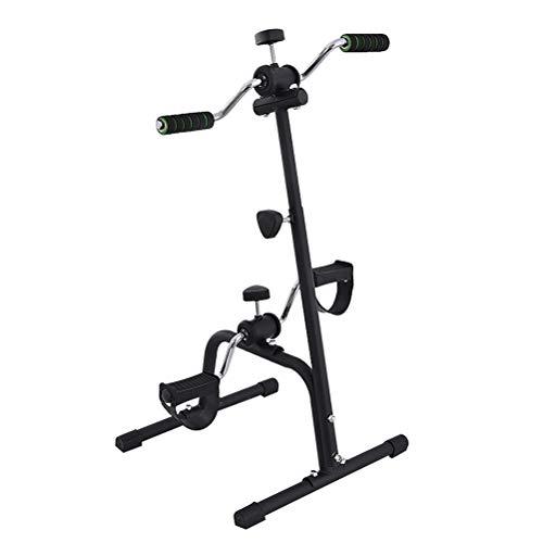 RongWang Mini Cubierta Fitness Bicicletas de Esfuerzo Vertical Rehabilitación de Bicicletas Bicicletas Apoyabrazos Paso a Paso de la Pierna Entrenador del Pedal