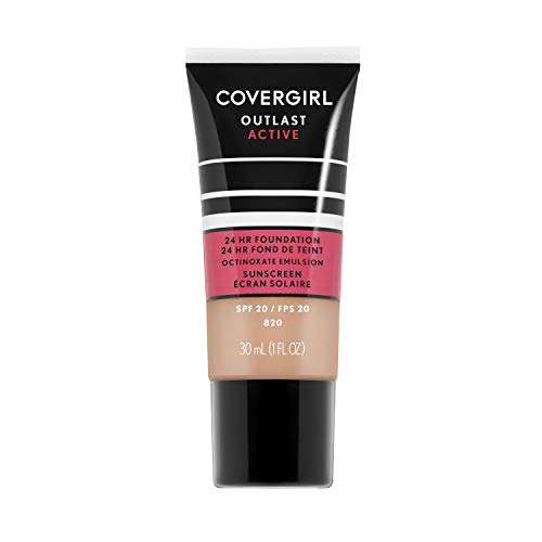 Covergirl Outlast Active Foundation, Creamy Natural, 1 Ounce