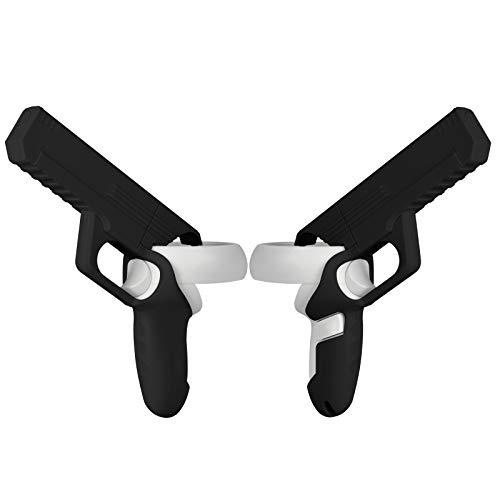 Pistola da Gioco VR per Oculus Quest 2,Pistola VR per Controller Oculus Quest 2,Aumenta l esperienza di Gioco per il Gioco di Tiro VR,Accessori per Oculus Quest 2