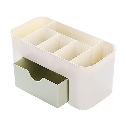 Chuen Lung lade Type-Out plank Desktop Storage Organizer plank rek met een lade voor thuis keuken Office slaapkamer badkamer 22 * 11 * 10.5CM Groen